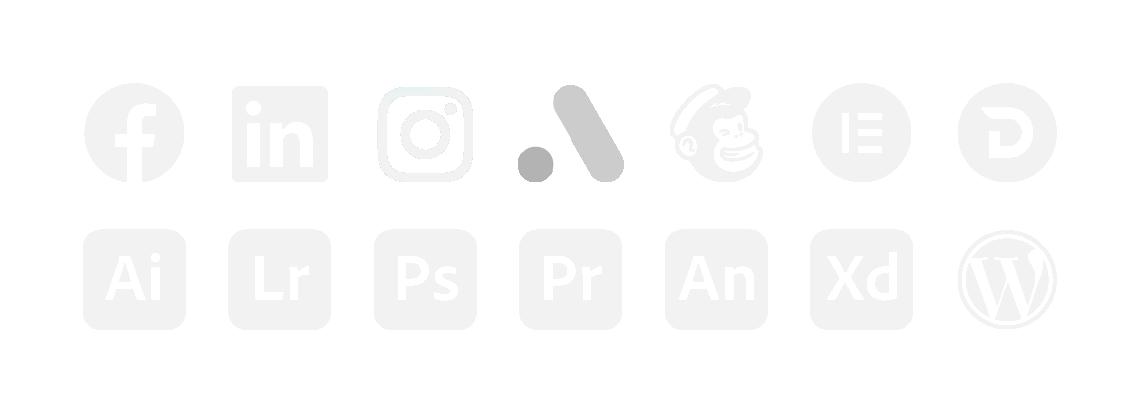 Backlinks tehnoloģiju ikonas